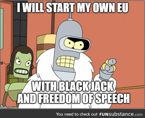 *When the EU parliment is just as corrupt as the UN*