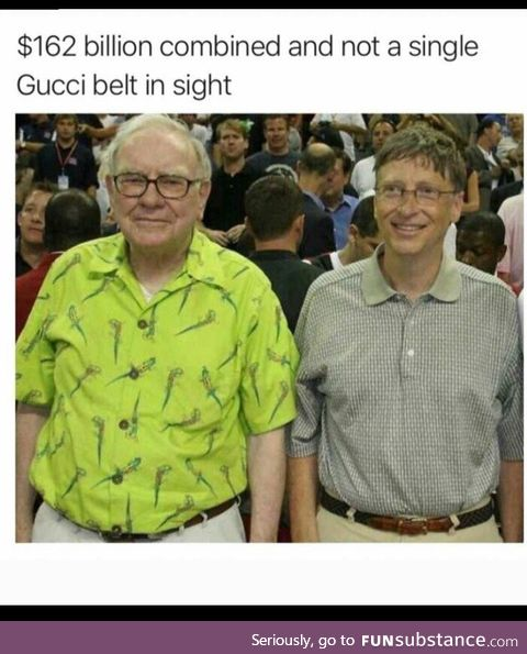 Who is Gucci? - Bill Gates, probably