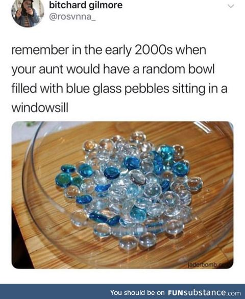 Always looked like magical stones