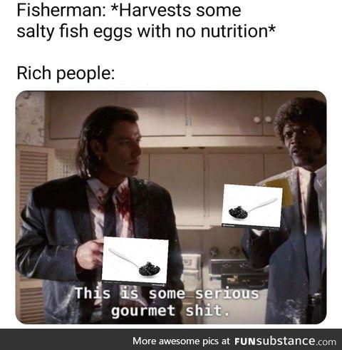 Smells fishy