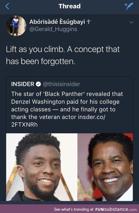 Good deeds go a long way