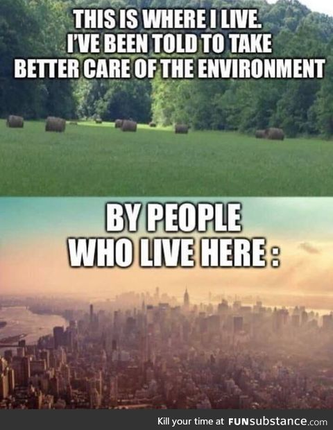 Conservative countryside > Liberal cities