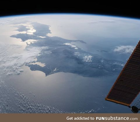 ISS view of Japan