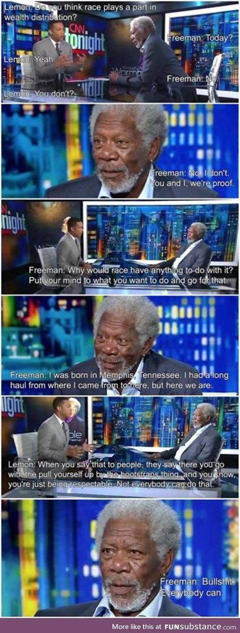 Good guy Freeman