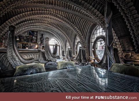 H. R gigers museum bar (switzerland)