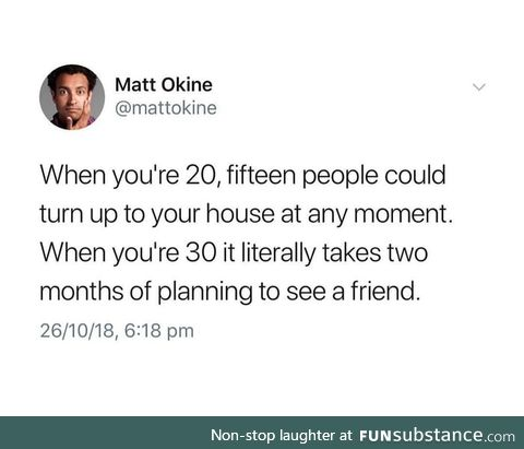 Adult Friendships are hard