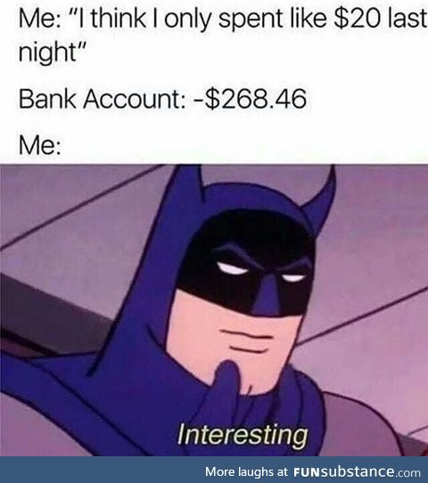 Sounds like a Tuesday night