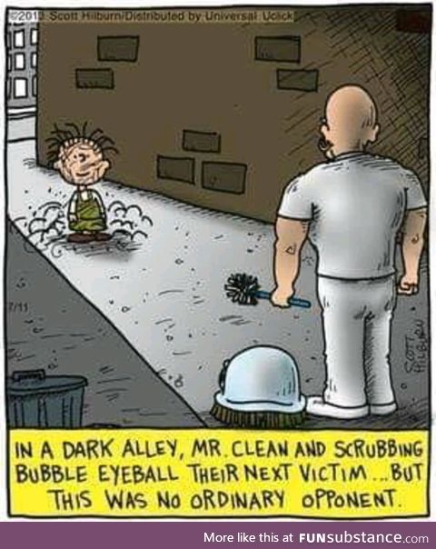 Mr. Clean your room