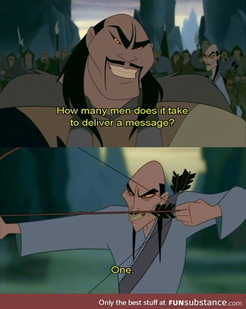 Shanyu, one of the coolest Disney villains