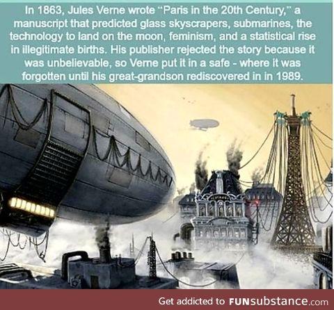Prediction of Paris in 20th Century