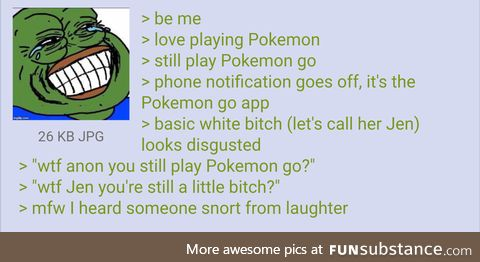 Anon knows what to say