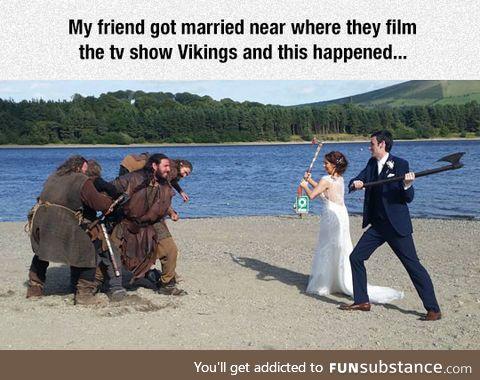 Suddenly...Vikings