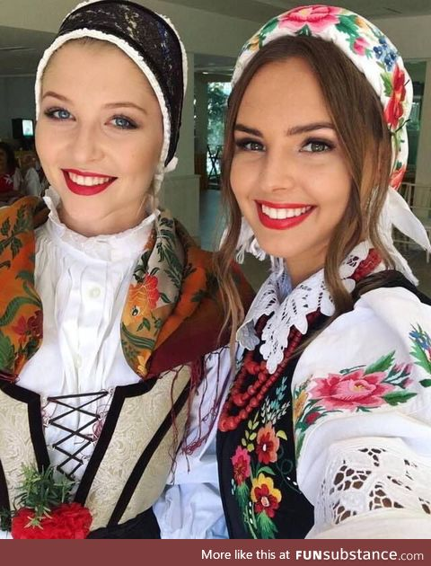 Miss Slovenia and Miss Poland