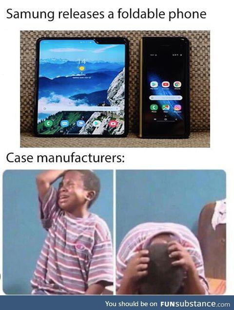 Flexible case?
