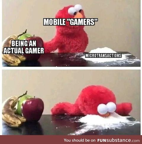 These damn mobile gamers