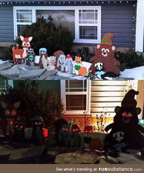 Christmas decorations done right
