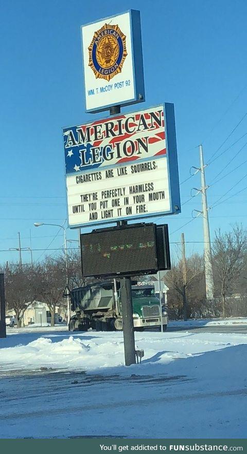When local veterans get a billboard