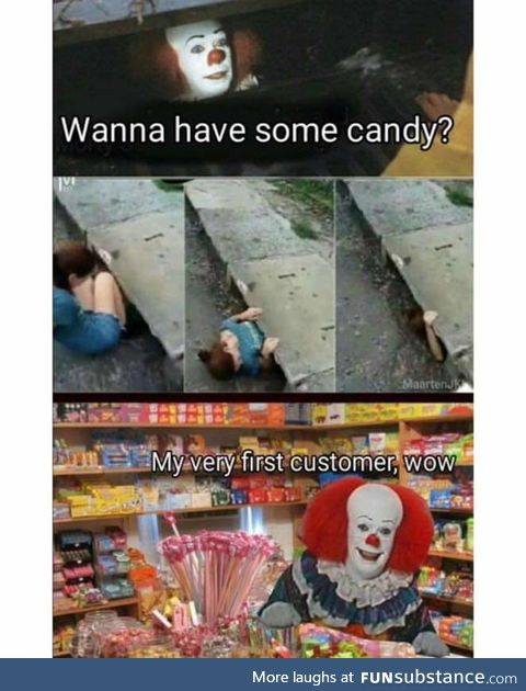 Thanks Pennywise