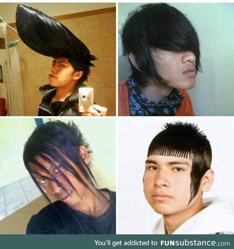 The four hairstyles of apocalypse