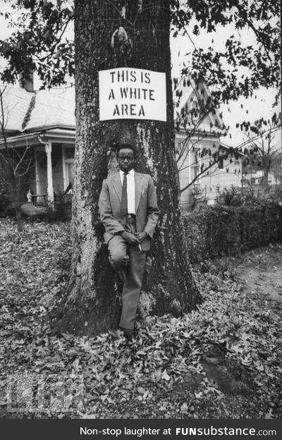 Civil disobedience circa 1950