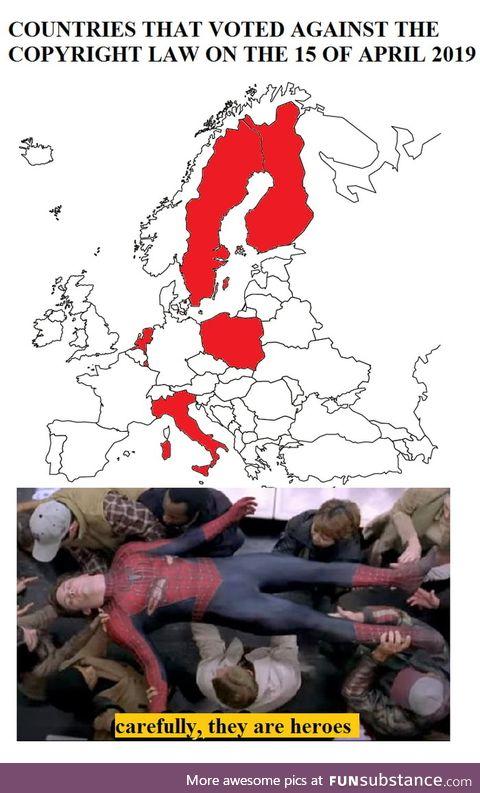 Do you remember that anti meme eu law?
