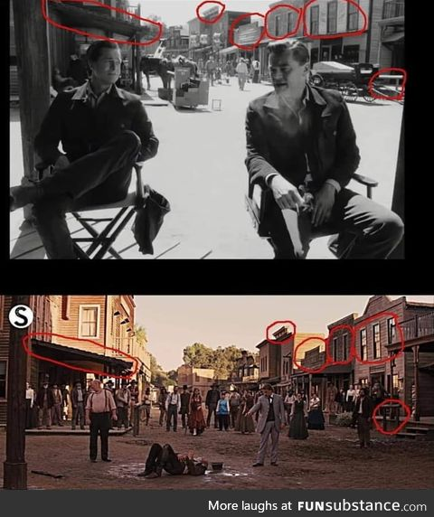 Once upon a time in hollywood share the same filming location with Django Unchained