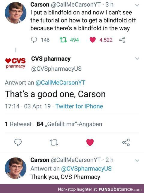 Nailed it. - Carson, probably