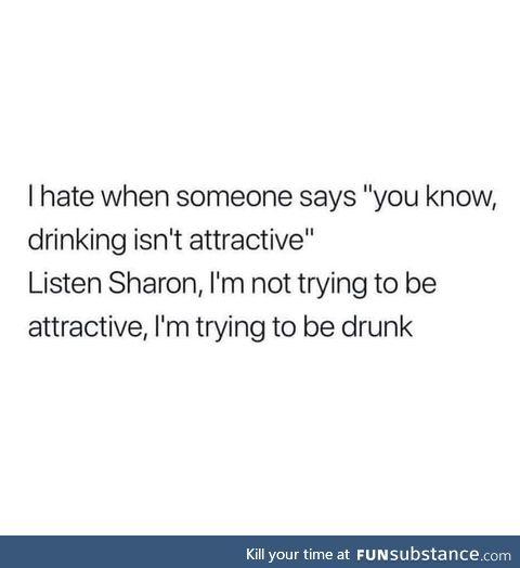 Yeah Sharon shut the F*** up