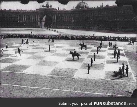 A human game of chess, 1924