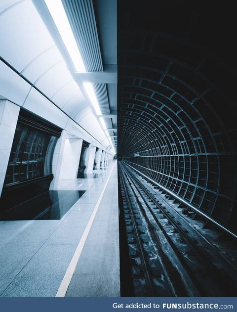 Savyolovskaya station, Moscow Metro by Rustam Shagimordanov