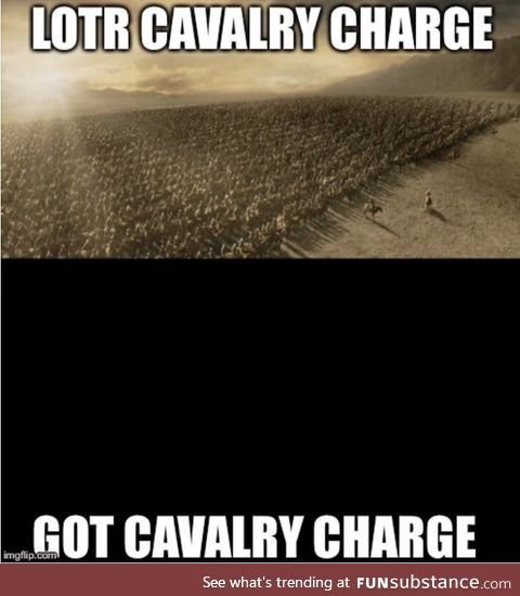 2 most epic cavalry charges to date