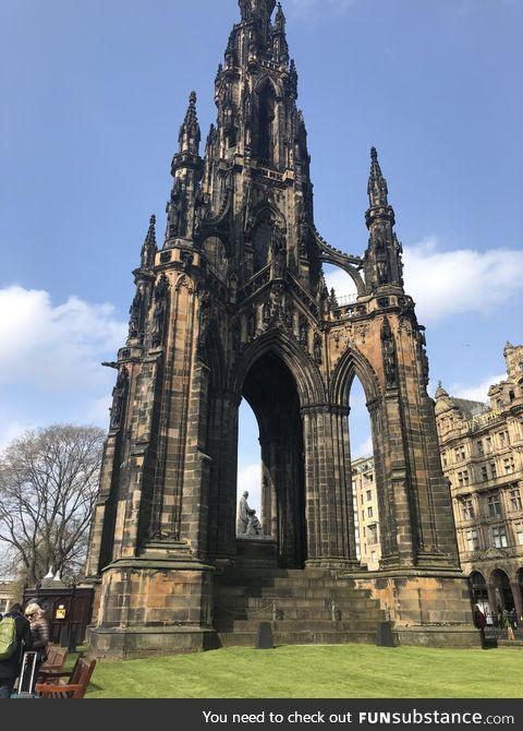 Edinburgh really is a beautiful city