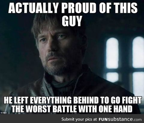 Considering the way he started in season 1