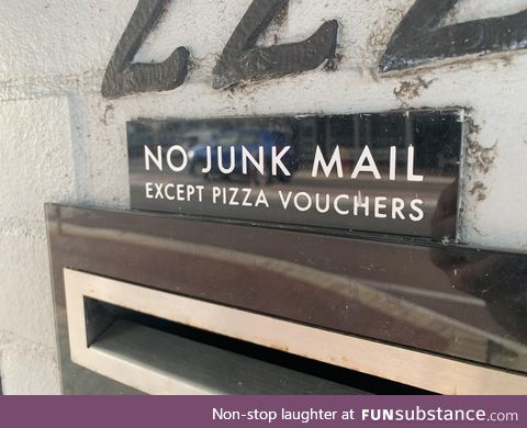 We all need pizza vouchers