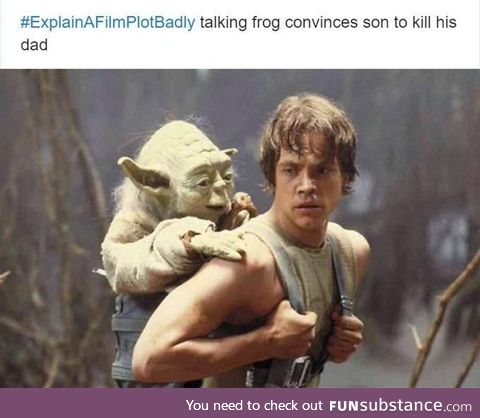 Damn talking frog