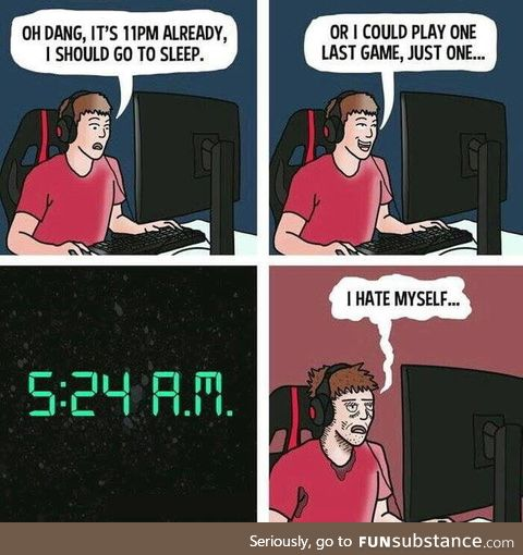 What games keep you up all night?