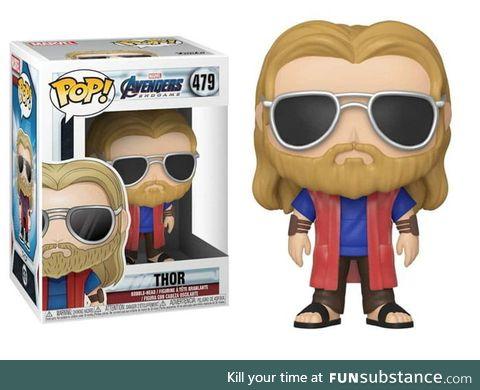 "The new ""casual Thor"" POP looks like ""badass Jesus"""