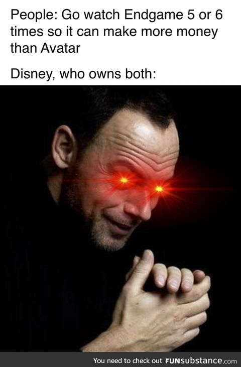 The monopoly that disney has in the entertainment business is frightening