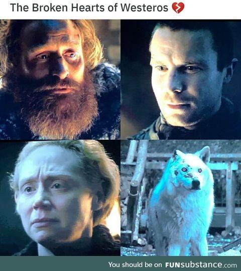 Jon was worst... Heartless !