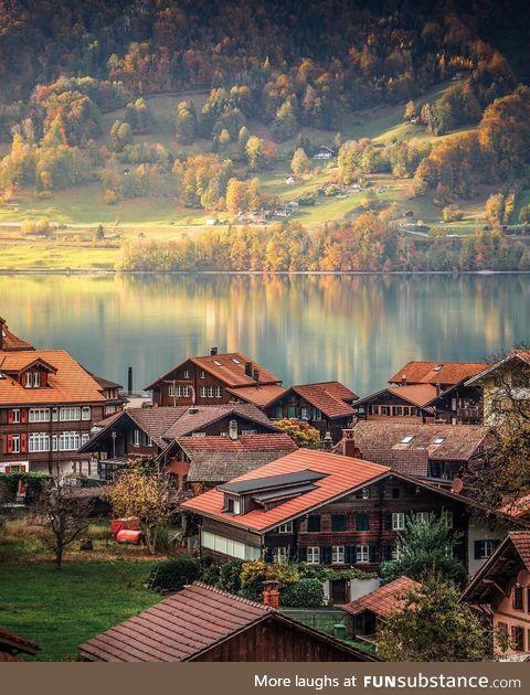 Mornings in Lungern, Switzerland