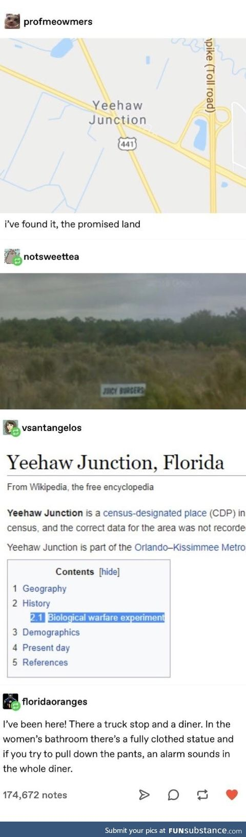 Yeehaw junction