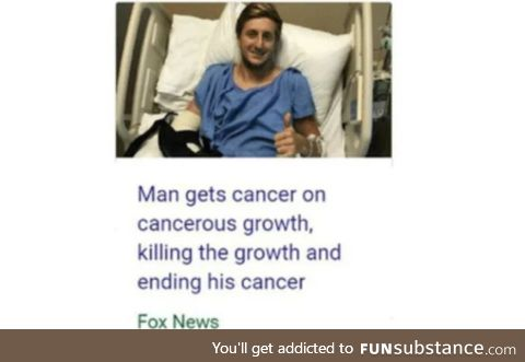 His cancer has cancer