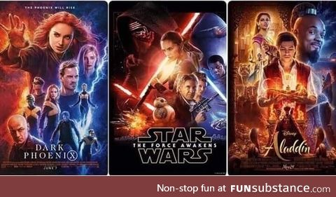 Seems like Disney is using the same guy from the graphics department