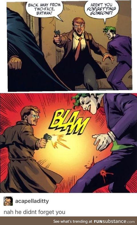 Bang bang, he shot me down