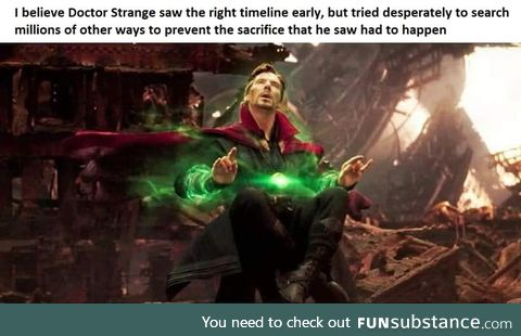 Strange is a good guy!