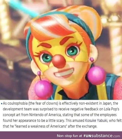 What a terrifying clown
