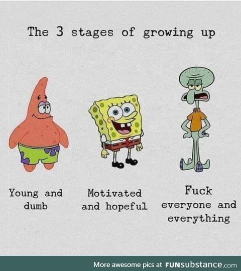 Three stages of truth