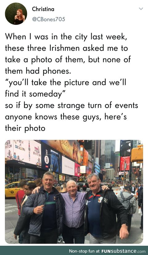 They were identified within hours of the pic being posted. Internets really do cool stuff