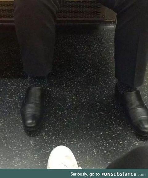 Socks match floor