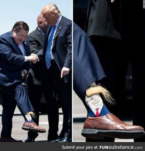 Those sure are some nice socks
